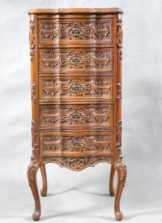 4: French  lingerie chest