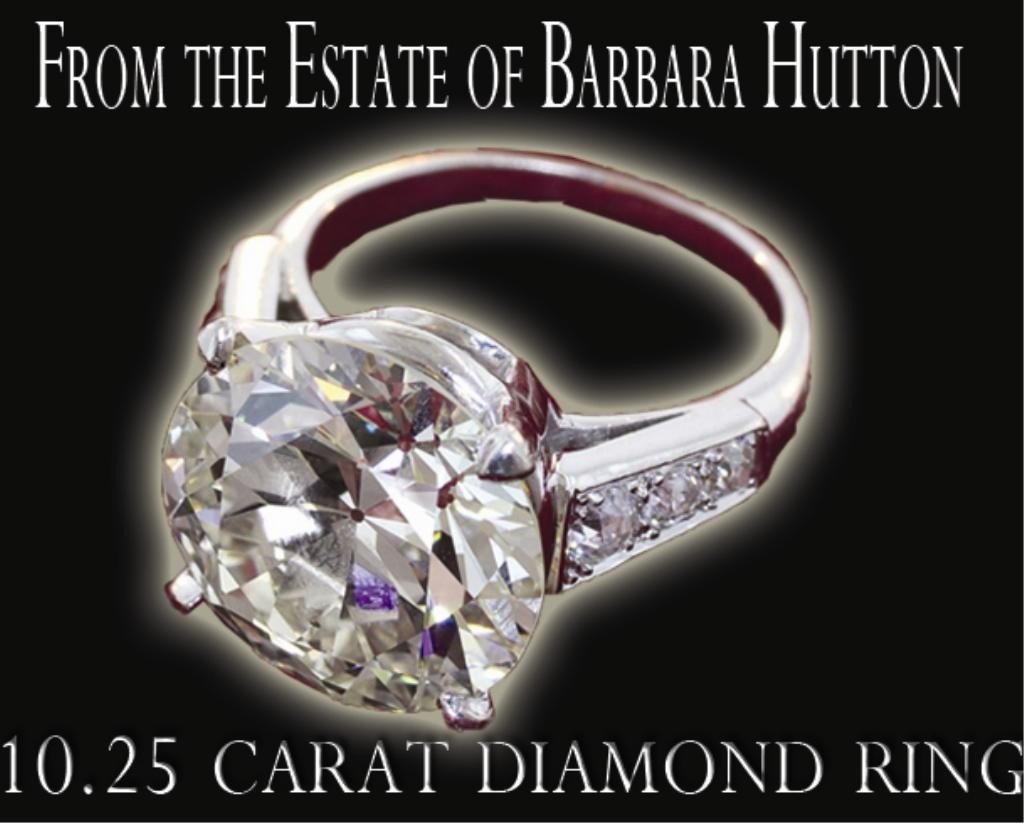 211: Outstanding 10.25 Carat Diamond Ring