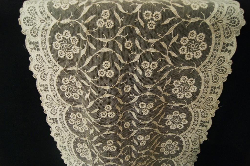 12: Antique crochets, lace and lace bonnets