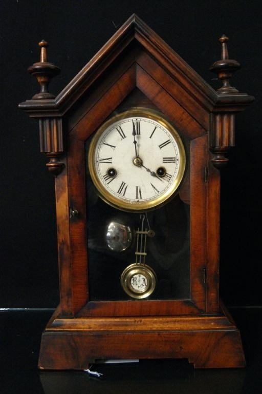 13: Steeple Mantle Clock circa 1870