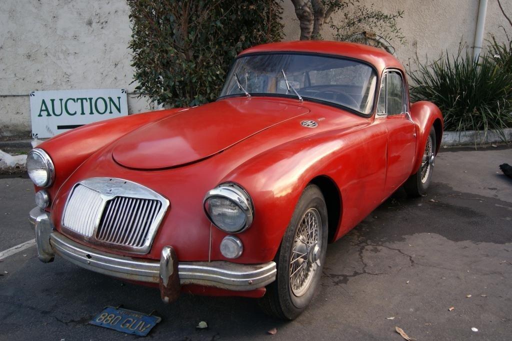 150: 1960 MG  A 1600 Coupe