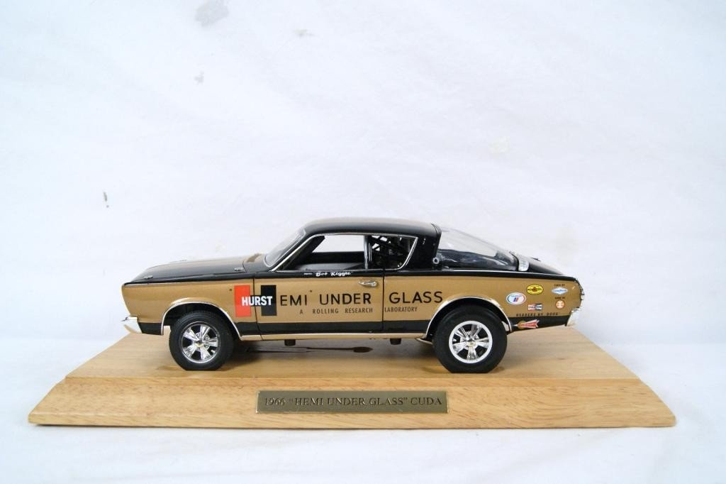 6: 1966 Barracuda 'Hemi Under Glass' - SIGNED
