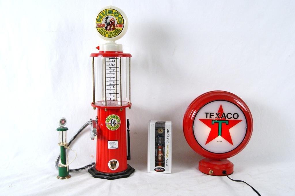17: Collection of Miniature oil & gas memorabilia