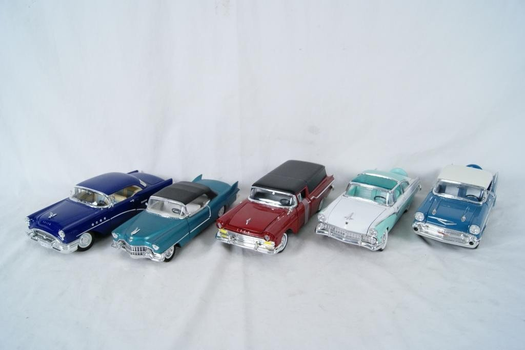20: Collection of 5 1950's Die-Cast Coupes