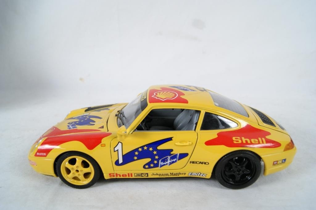 58: Collection of 9 Die-Cast Race Cars - 10