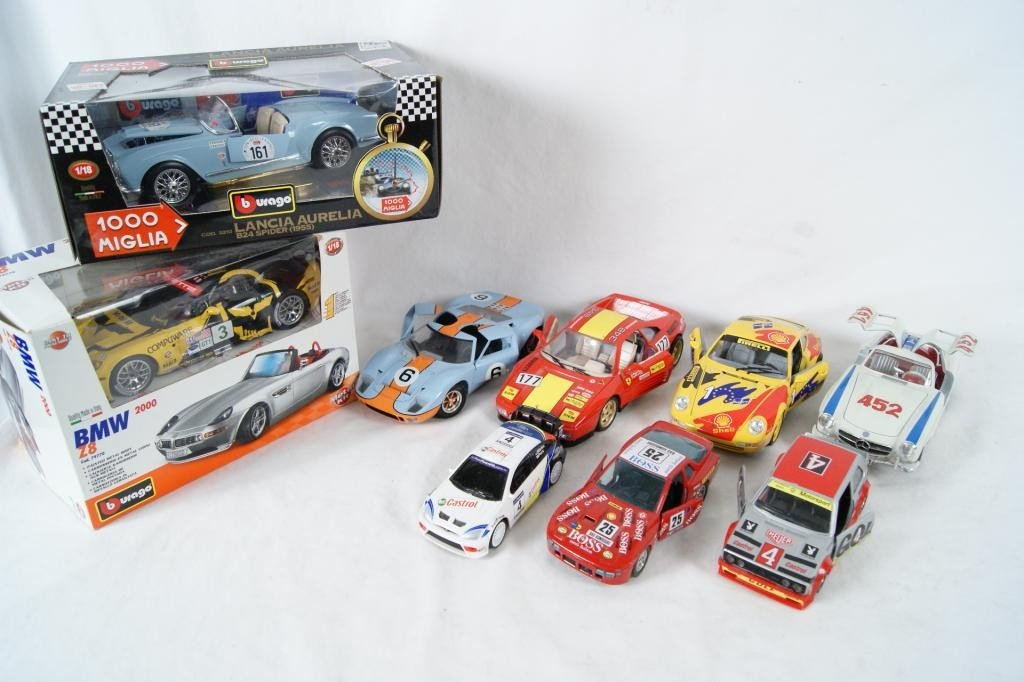 58: Collection of 9 Die-Cast Race Cars - 3