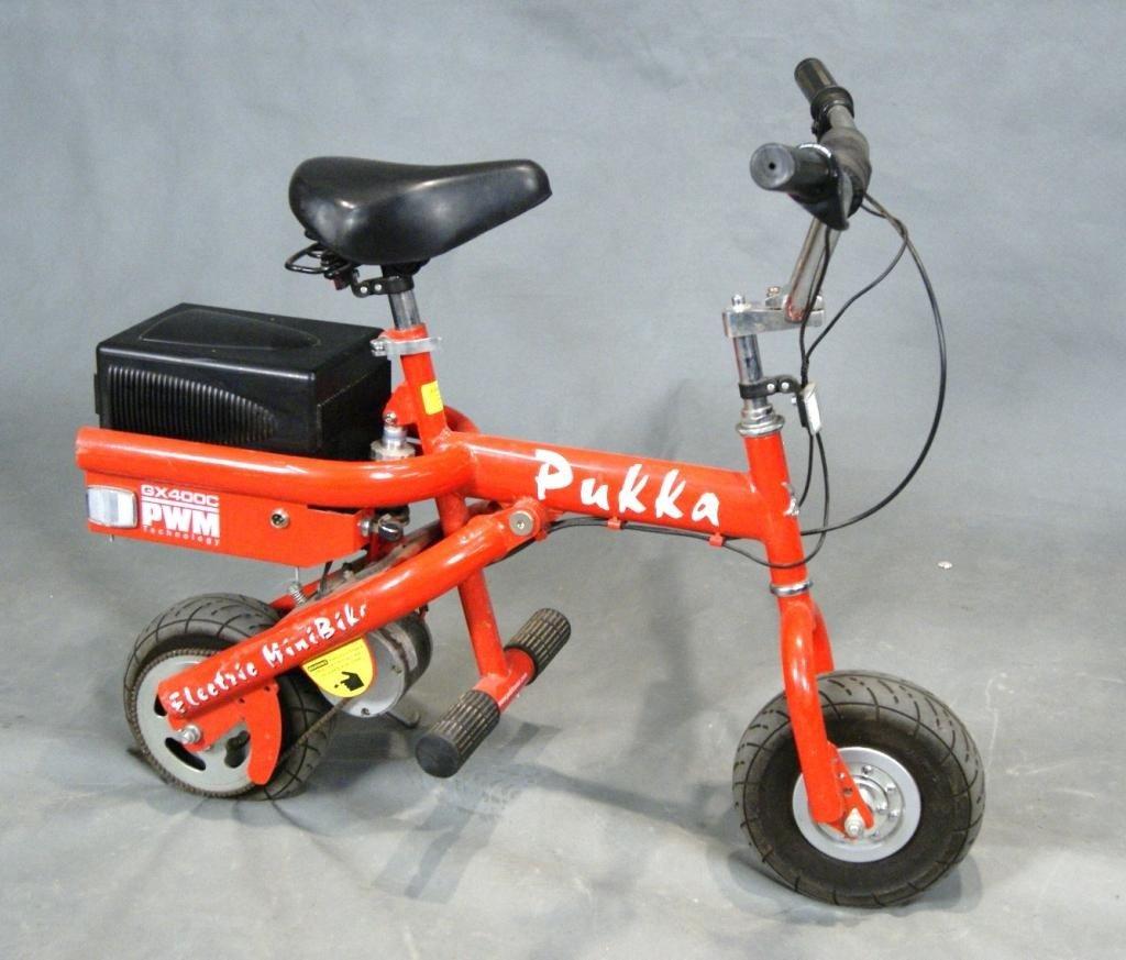 85: Pukka Electric Mini-bikes GX400C