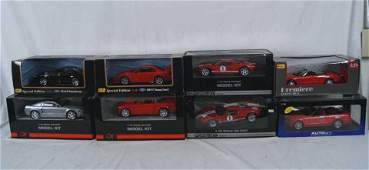 88: Collection of Ford model kits & models MIB (8)