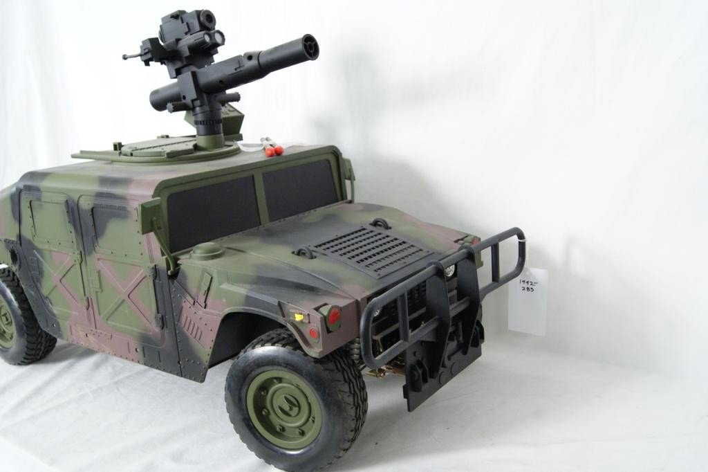 93: Large 21st Century Toys Radio Control Humvee.