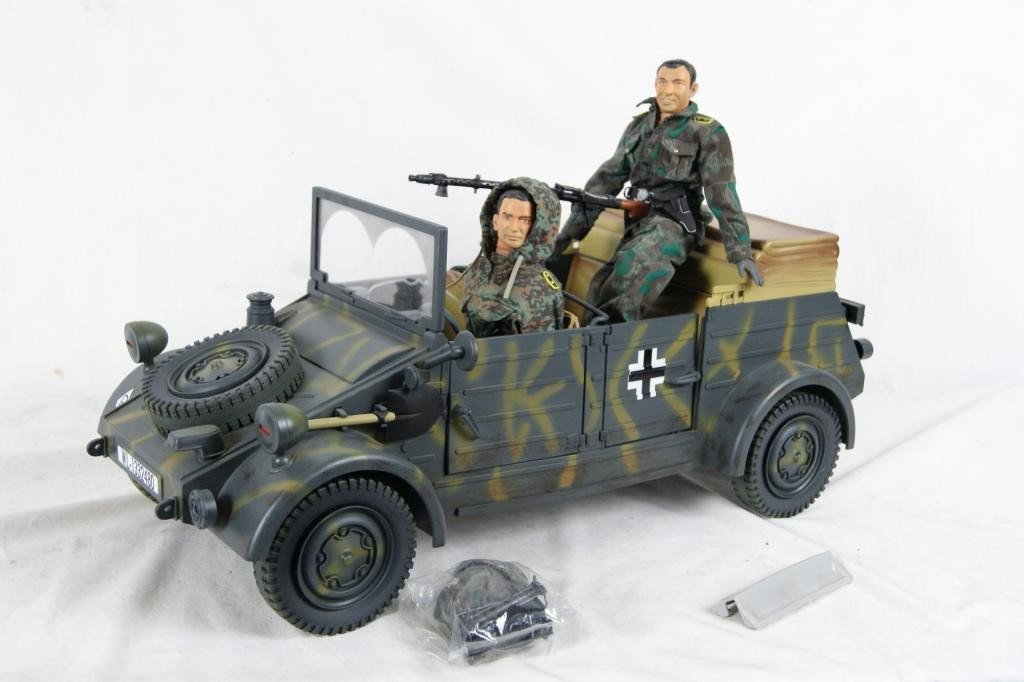 192: Collection of 4 1:6 scale military vehicles GI Joe - 10