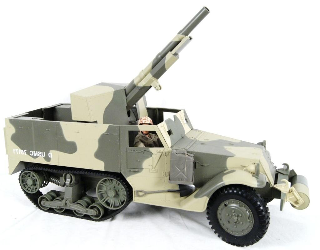 192: Collection of 4 1:6 scale military vehicles GI Joe - 3