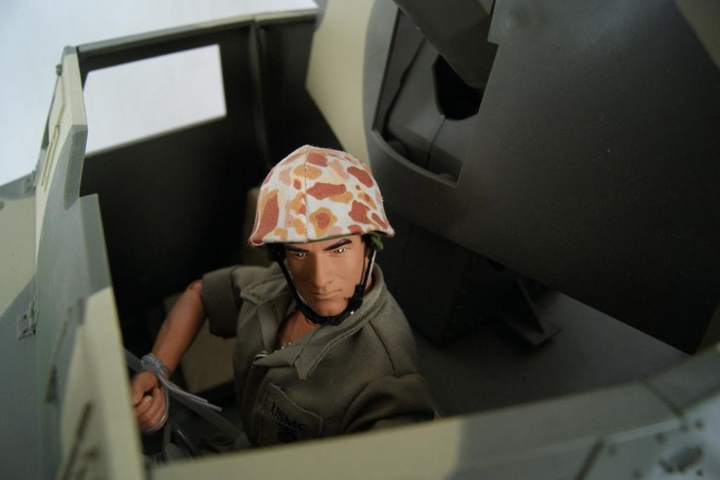 192: Collection of 4 1:6 scale military vehicles GI Joe - 4