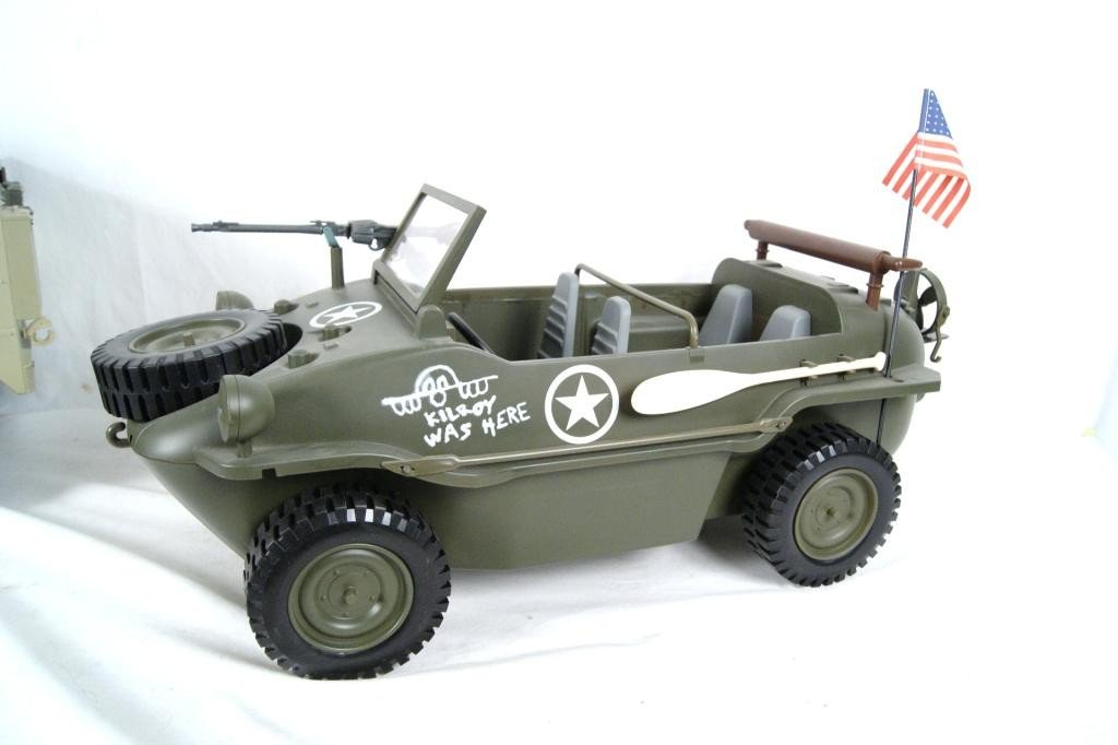 192: Collection of 4 1:6 scale military vehicles GI Joe - 6