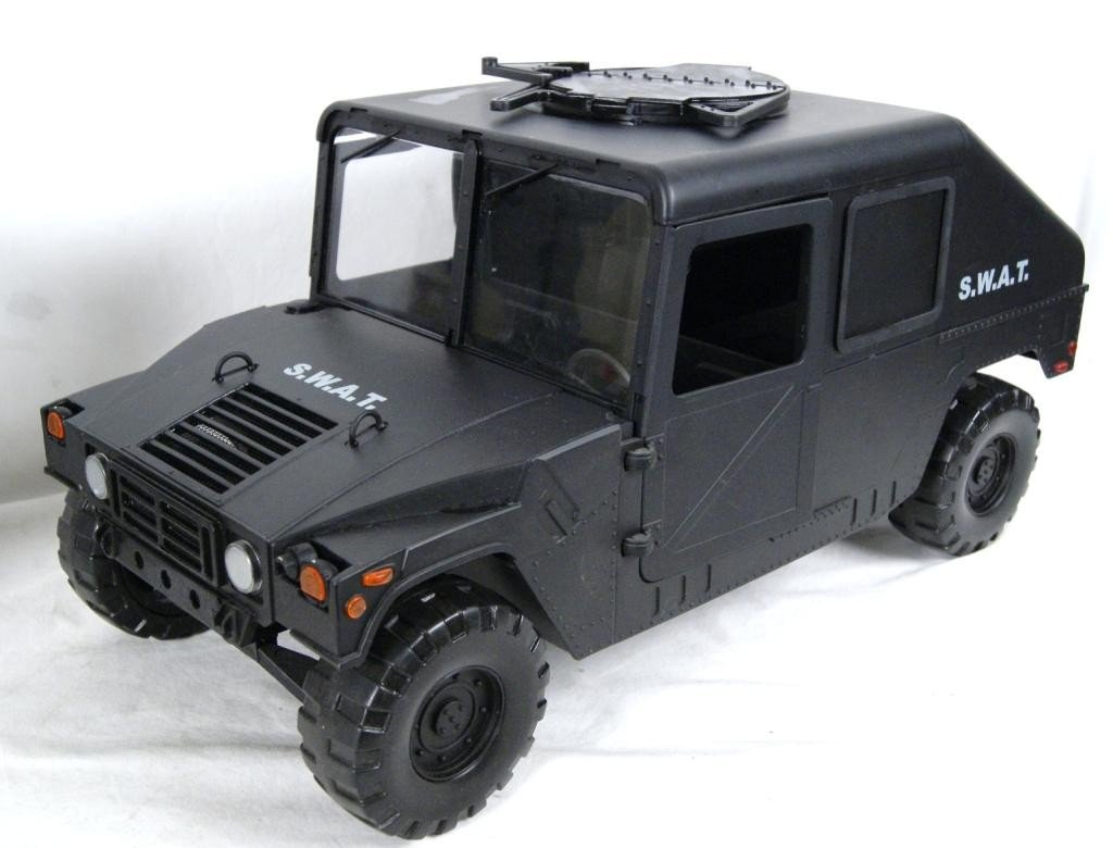 192: Collection of 4 1:6 scale military vehicles GI Joe - 8