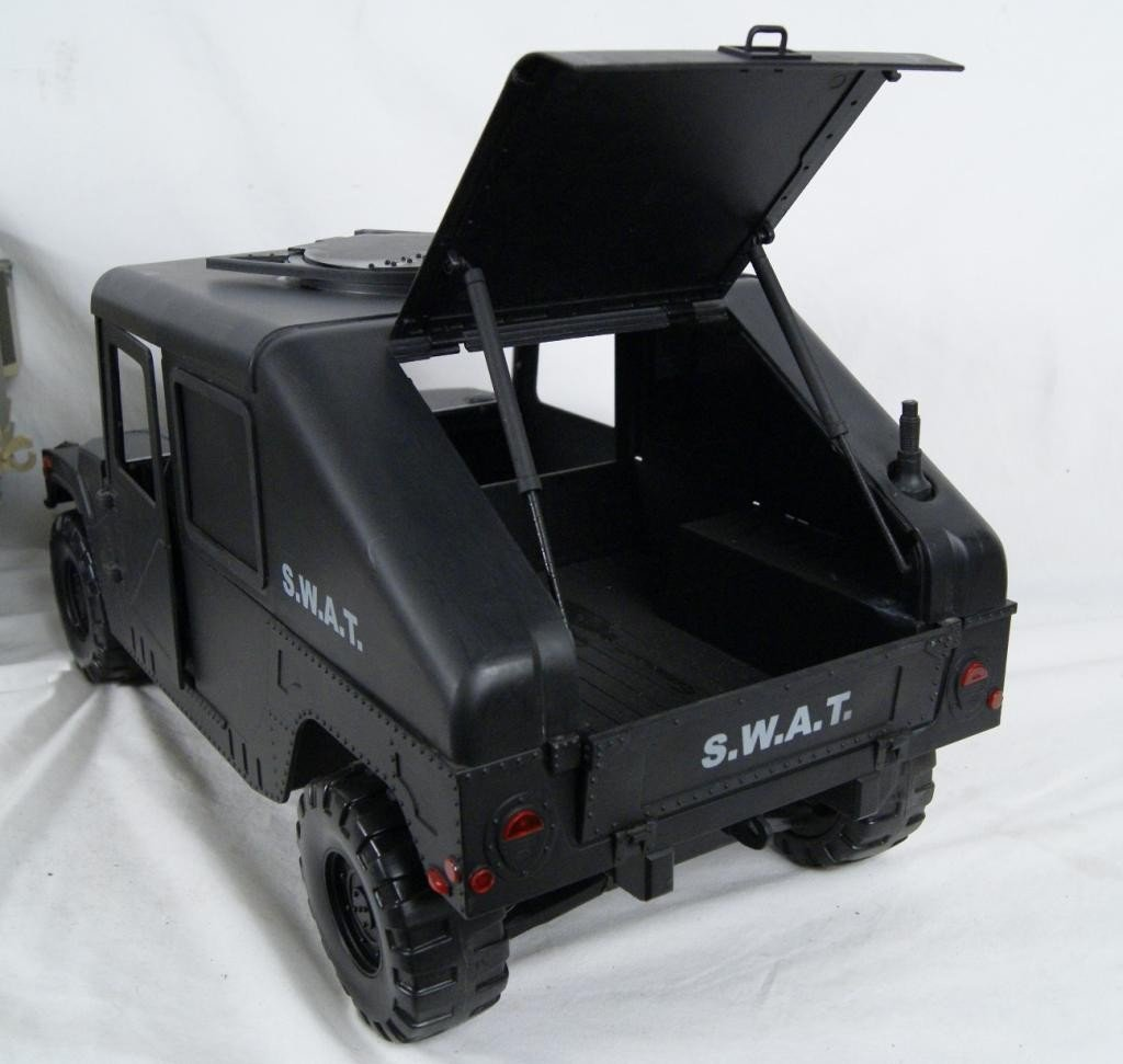 192: Collection of 4 1:6 scale military vehicles GI Joe - 9