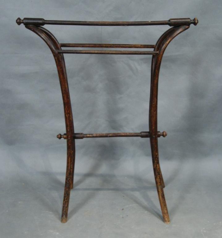 18B: Bentwood antique quilt rack