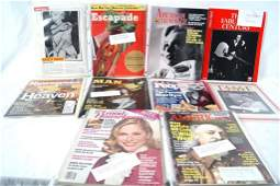 170B: Collection of 11 Marilyn Monroe Mags
