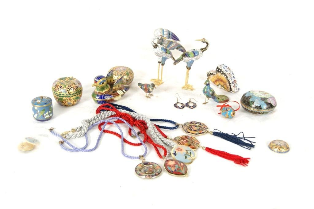 9: Cloisonne & Enameled Jewelry