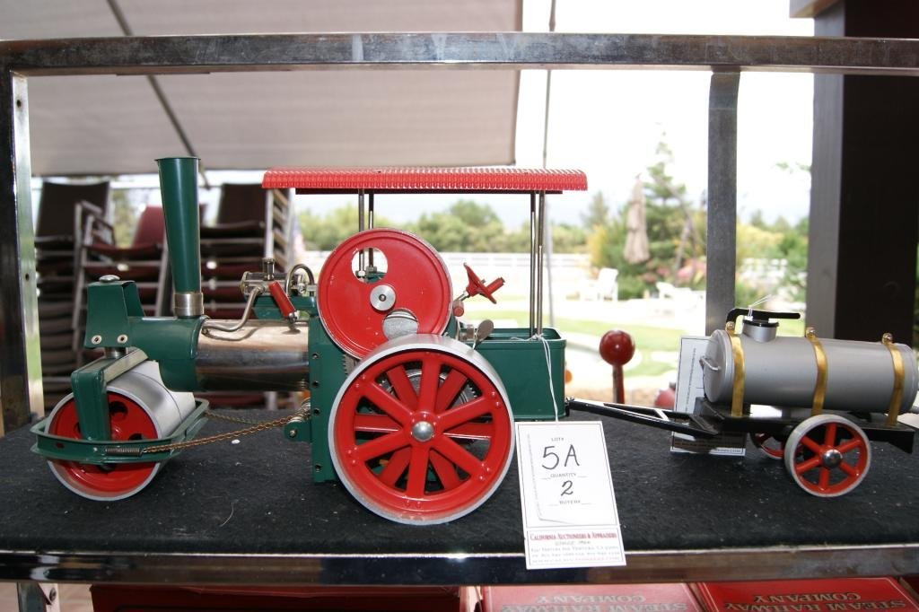 5A: Wilesco Steam Roller & trailer