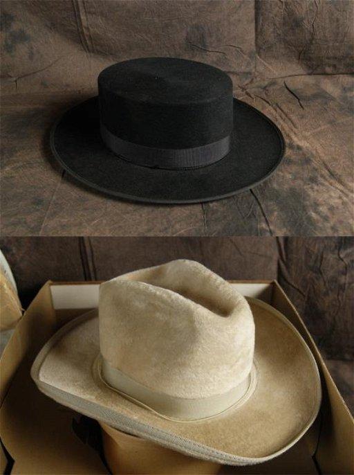 4754e02c6b0a7 8: Spanish Bolero & Huckel Guama Cowboy hats. placeholder. See Sold Price