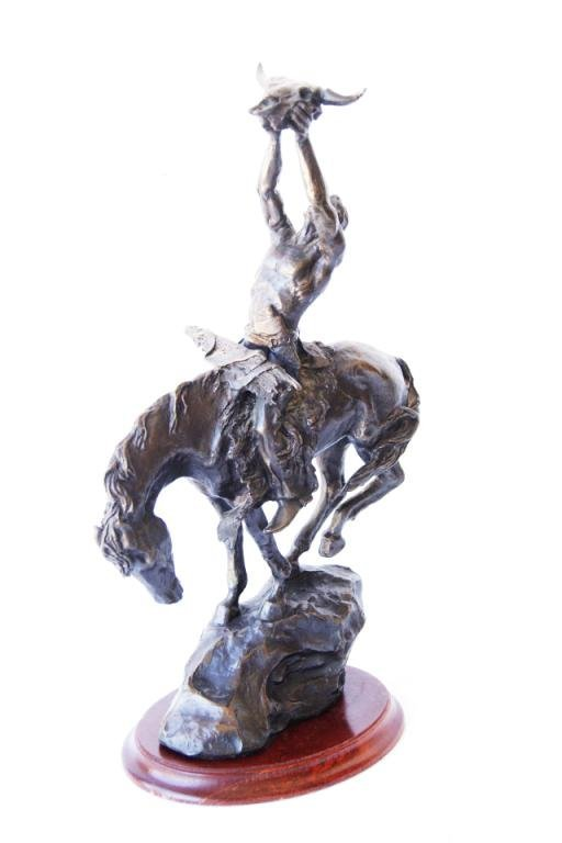 10: Buck McCain (1943)  Indian Bronze