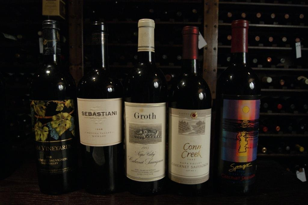 15: Collection of 5 Fine Napa Valley Wines - Groth