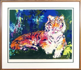 "LeRoy Neiman (1921-2012) 26""x32"" Tiger"