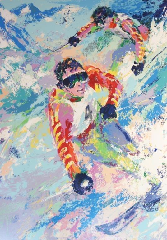 71: LeRoy Neiman (1921-2012) 35/300 Skiers
