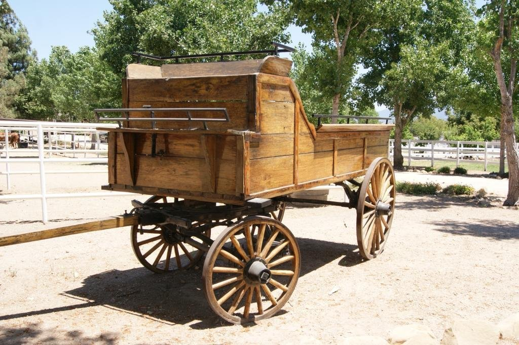 75: Outstanding Draft horse wagon