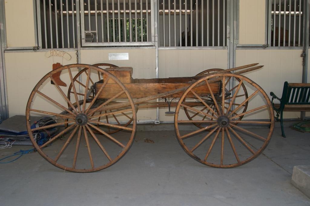 76: Corbin 99 horse buggy - (Buckboard)
