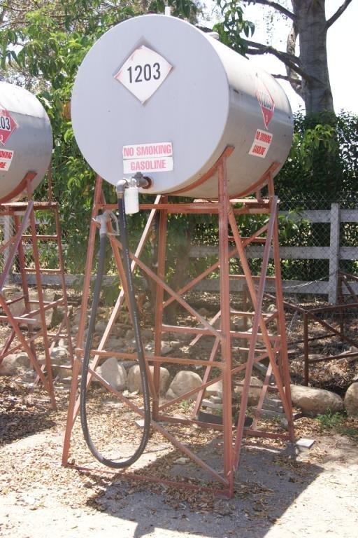 79B: Ranch gasoline tank