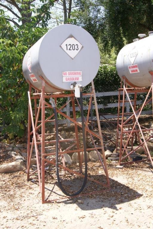 79C: Ranch gasoline tank