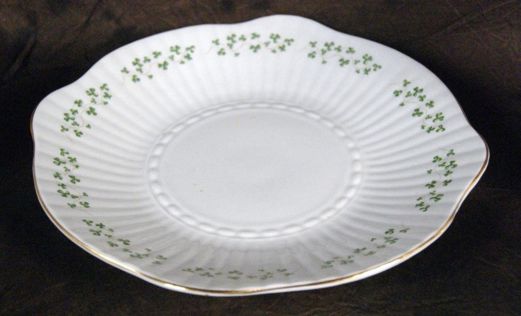 "125: Irish ""Royal Terra"" bone china clover tea set - 5"