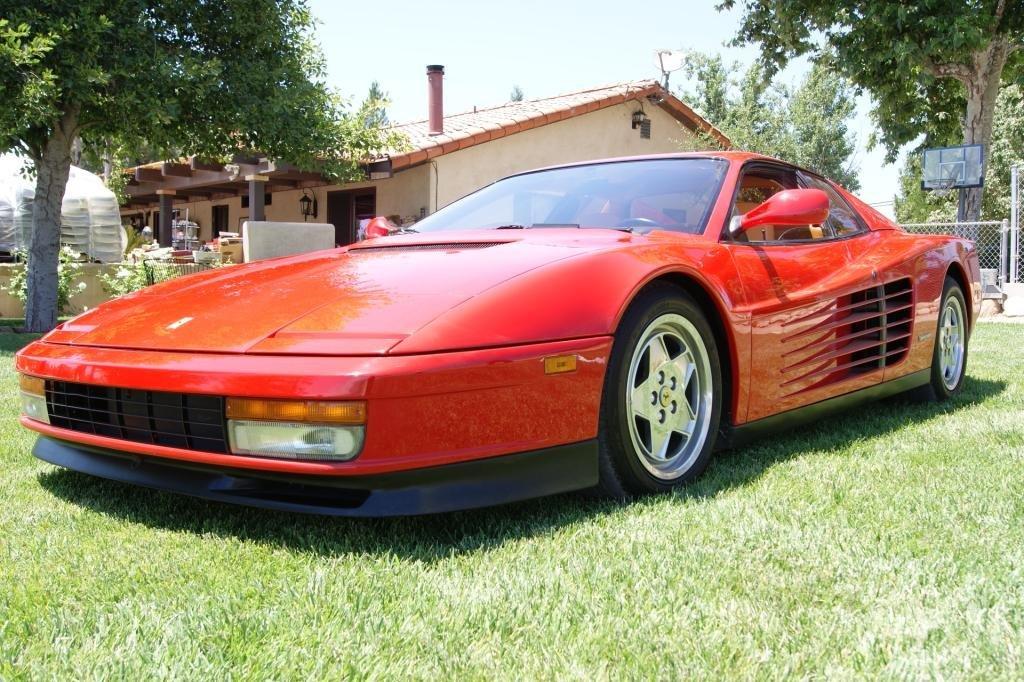 155: 1990 Ferrari Testarossa V12 with 25k orig. miles