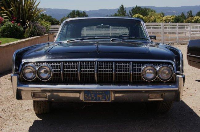 156 1964 lincoln continental convertible 4 door lot 156. Black Bedroom Furniture Sets. Home Design Ideas