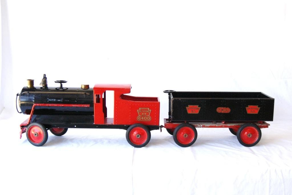 229A: Keystone Vintage pressed steel locomotive & tende