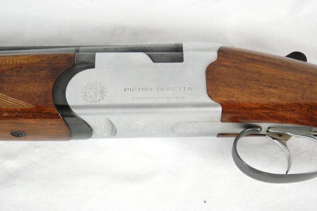 34: Pietro Beretta 12 Gauge O/U MDL. S55 Ser#136748 - 6