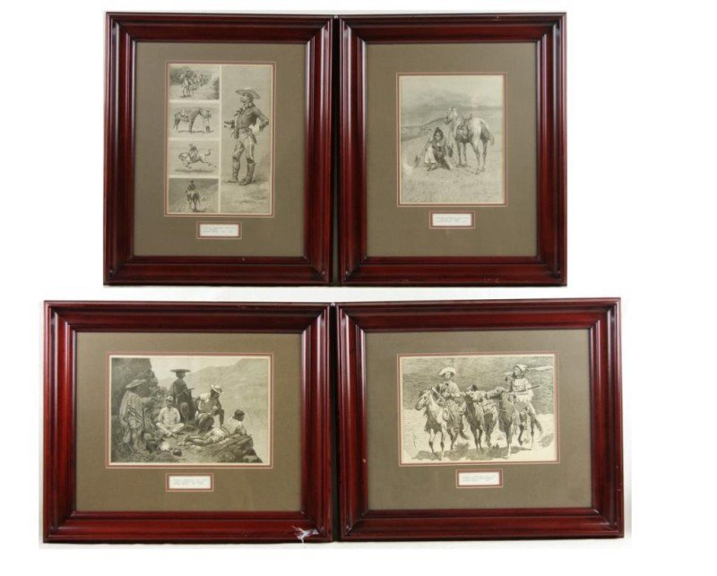 404: Frederic Remington wood engravings 1887