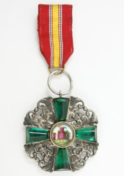422: Order of the Zahringen Lion Knight WWI medal