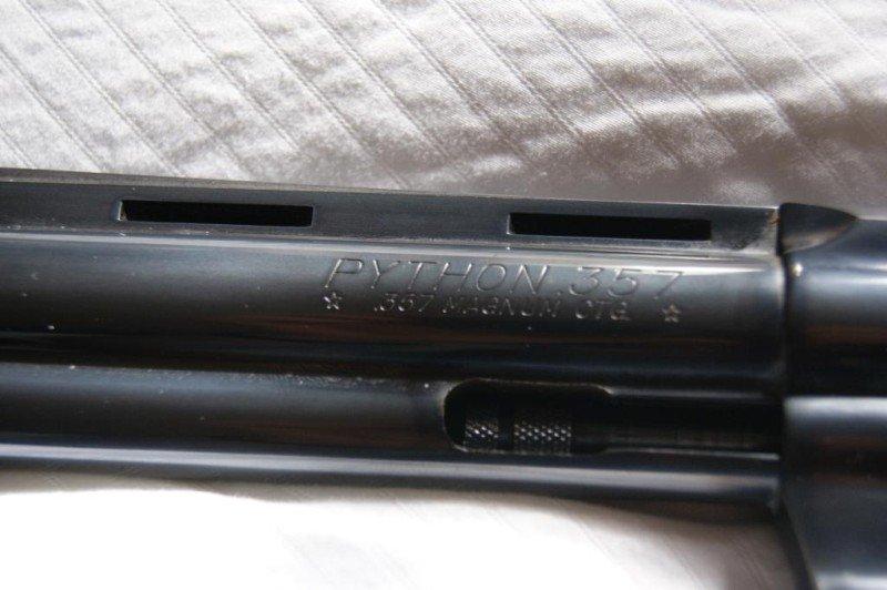 483: Colt .357 Magnum CTG Python #58199 - 2