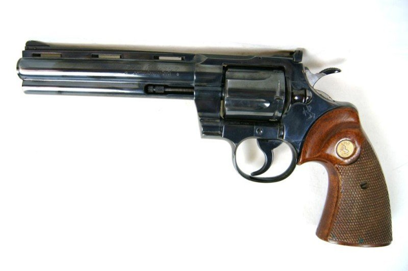 483: Colt .357 Magnum CTG Python #58199 - 3