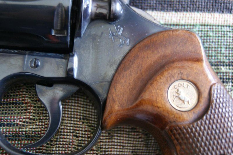 483: Colt .357 Magnum CTG Python #58199 - 8