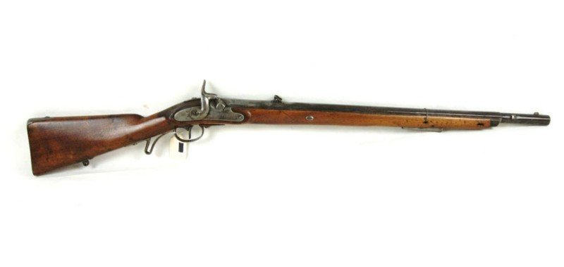 531: Rare Confederate LW rifle with CSA mark