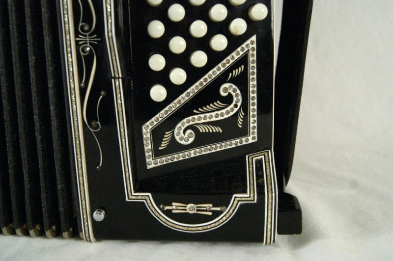 "543: Excelsior N.Y. ""Special Model"" jeweled Accordion - 3"