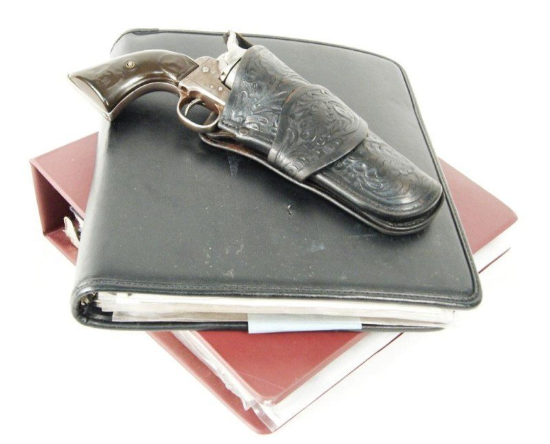 550: Butch Cassidy's Amnesty Colt SAA.45 and documents