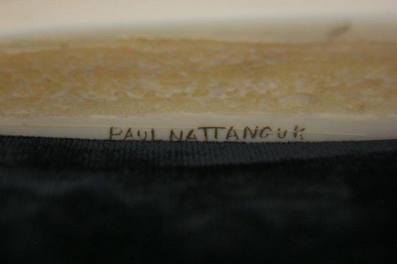 10: Paul Nattanguk Ivory Carved Eskimo Boat with seals - 7