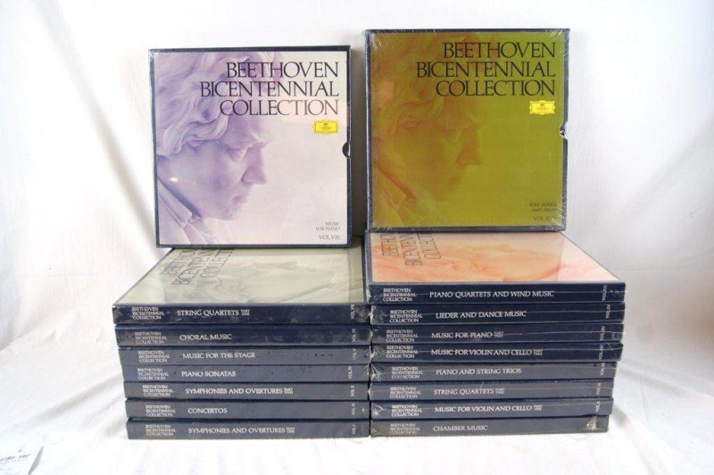 14: Complete Beethoven Bi Cent. collection 85 Records