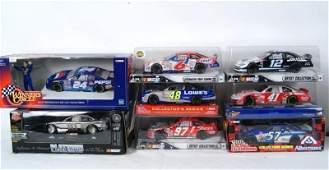 421 Collection of 8 NIB NASCAR 124