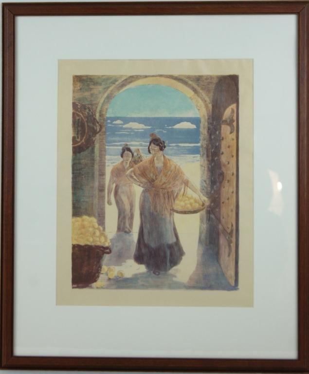 156A: Alexandre Lunois (1863-1916) original lithograph