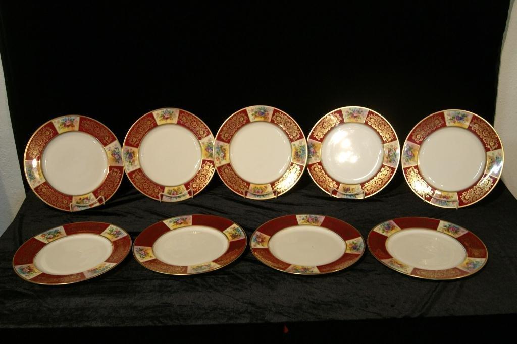 Pickard porcelain plates - 9